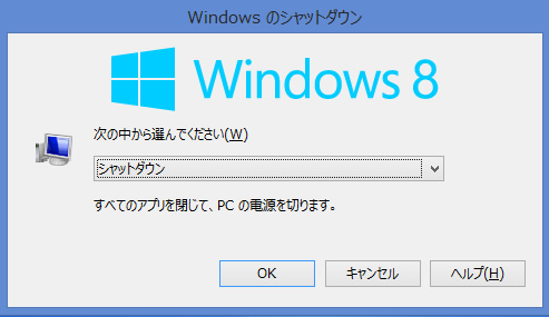 windows 8 Alt+F4